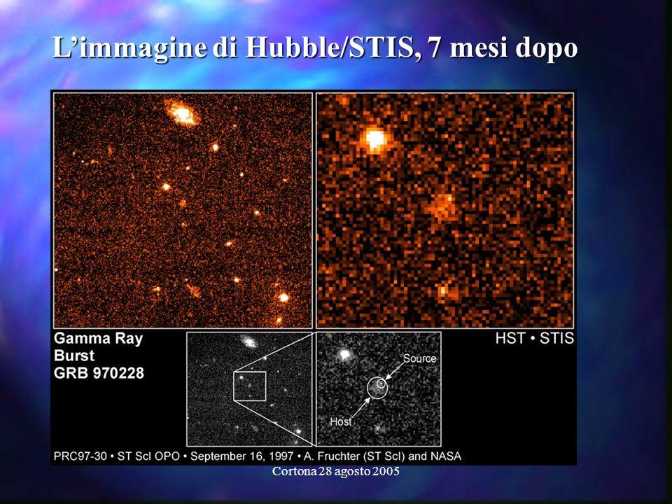Cortona 28 agosto 2005 Limmagine di Hubble/STIS, 7 mesi dopo