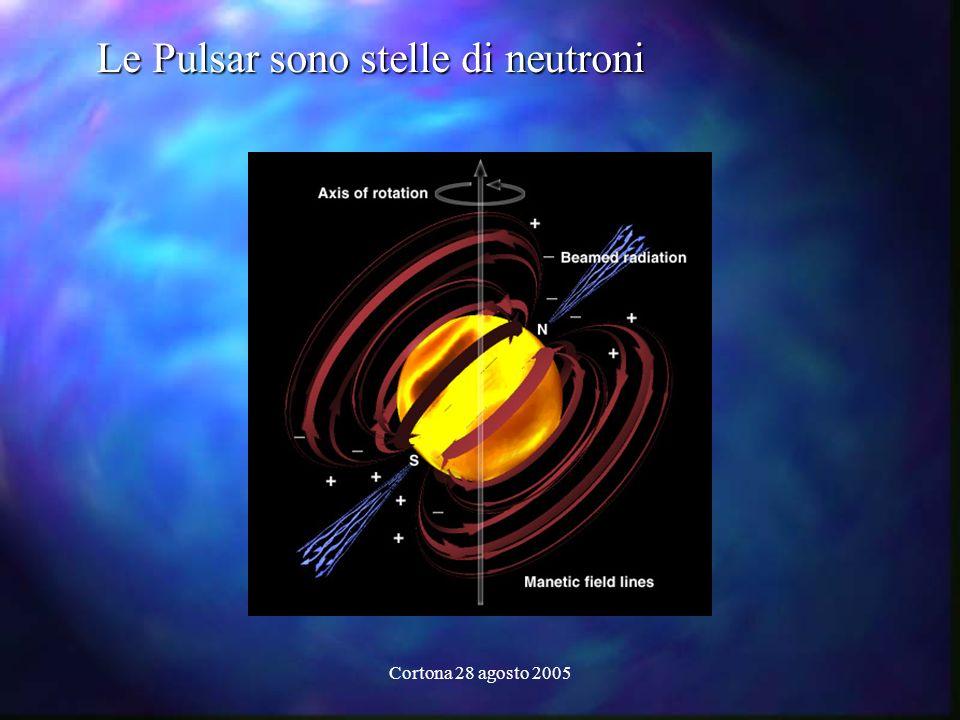 Cortona 28 agosto 2005 Le Pulsar sono stelle di neutroni