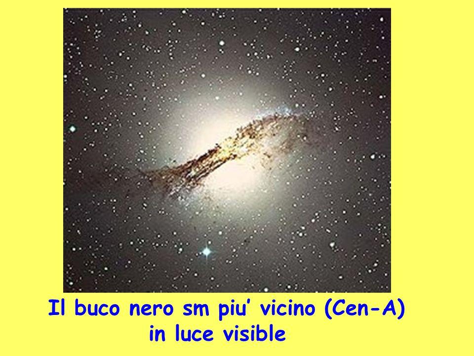 Il buco nero sm piu vicino (Cen-A) in luce visible