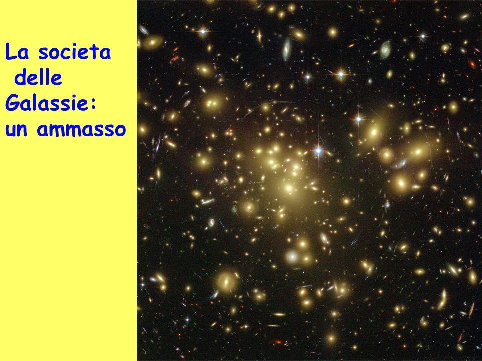 La societa delle Galassie: un ammasso