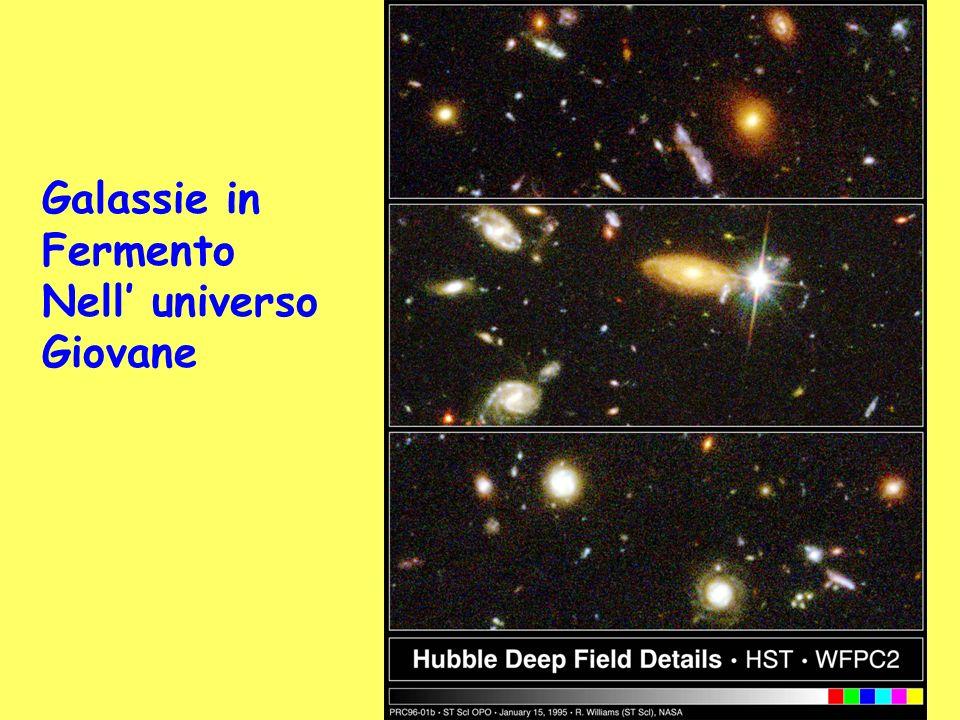 Galassie in Fermento Nell universo Giovane