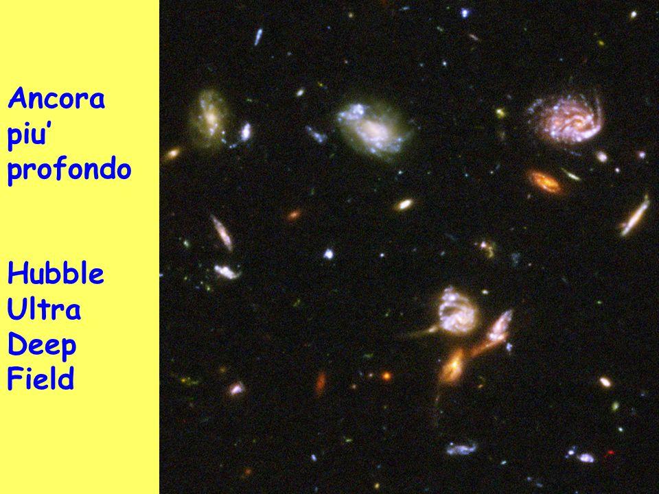 Ancora piu profondo Hubble Ultra Deep Field