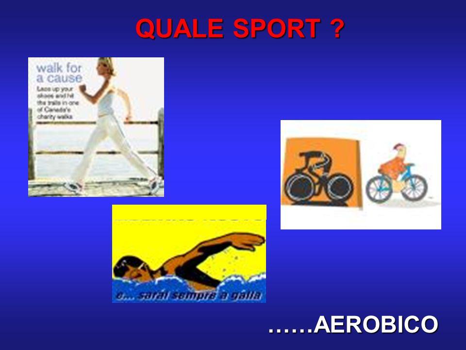 QUALE SPORT ? ……AEROBICO