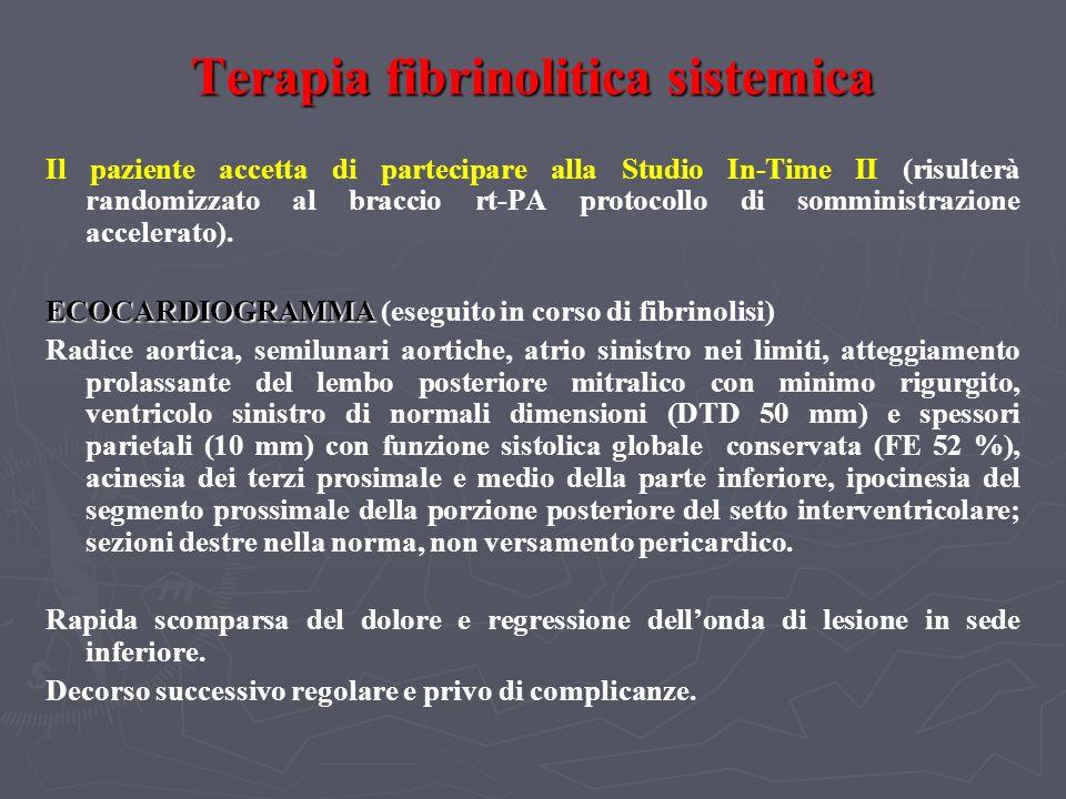 INDICAZIONI AL TEST ERGOMETRICO NEI PAZIENTI CON INFARTO MIOCARDICO - 2 INDICAZIONI AL TEST ERGOMETRICO NEI PAZIENTI CON INFARTO MIOCARDICO - 2 (Gibbon et al.: ACC/AHA 2002 Guideline Update for Exercise Testing) Classe IIb 1.