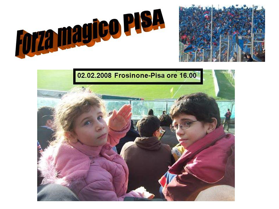 02.02.2008 Frosinone-Pisa ore 16.00