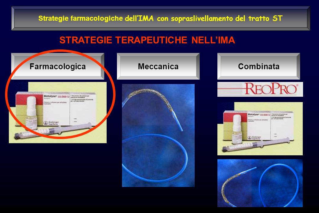 STRATEGIE TERAPEUTICHE NELLIMA FarmacologicaMeccanicaCombinata