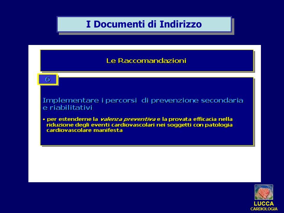 I Documenti di Indirizzo LUCCA CARDIOLOGIA