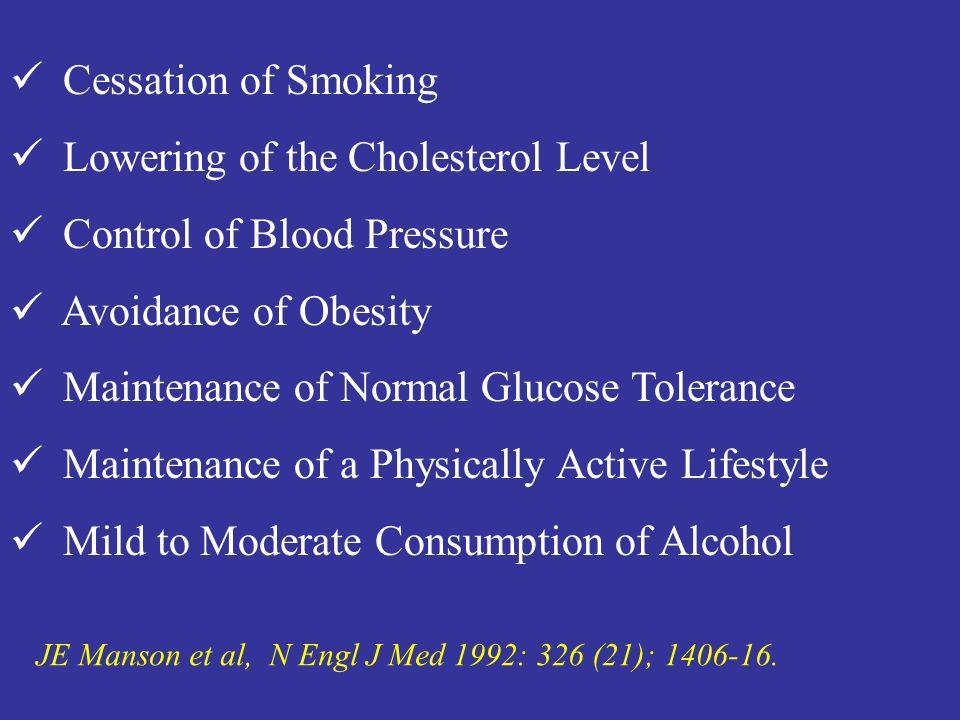 Sedentary lifestyle / Physical inactivity JE Manson et al, N Engl J Med 1992: 326 (21); 1406-16.