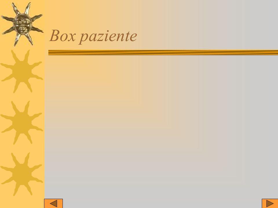Box paziente