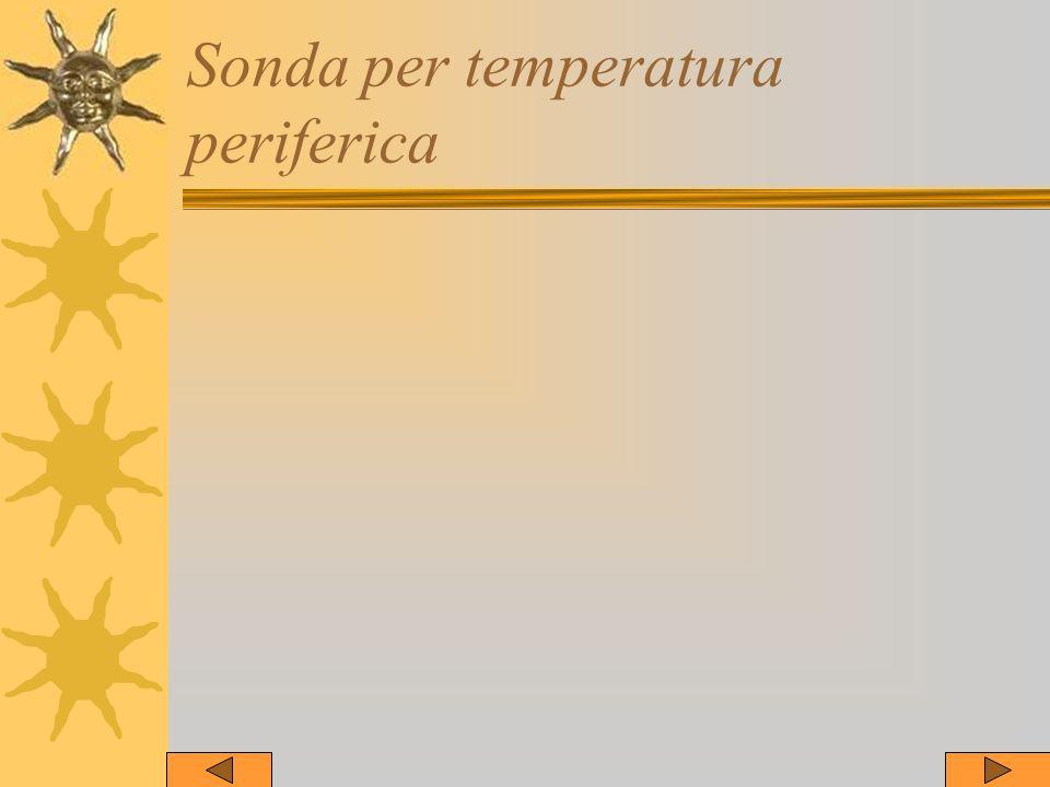 Sonda per temperatura periferica