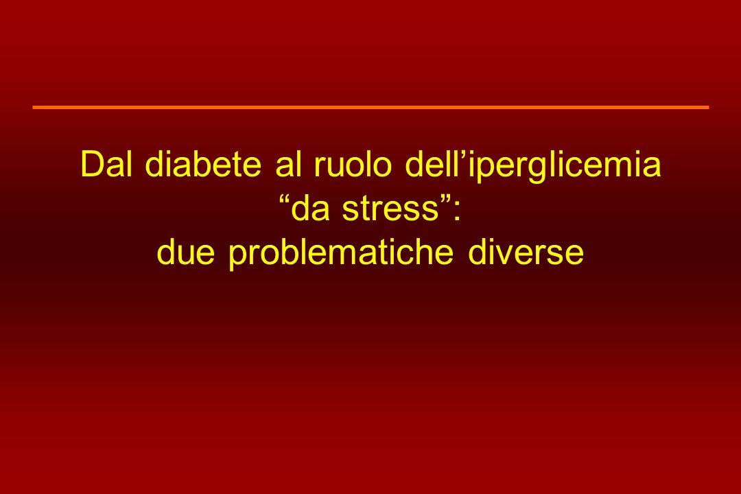 Dal diabete al ruolo delliperglicemia da stress: due problematiche diverse
