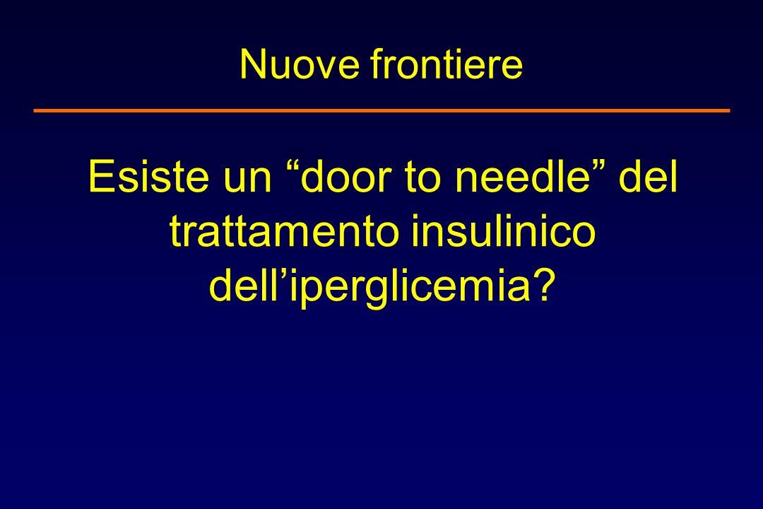 Nuove frontiere Esiste un door to needle del trattamento insulinico delliperglicemia?