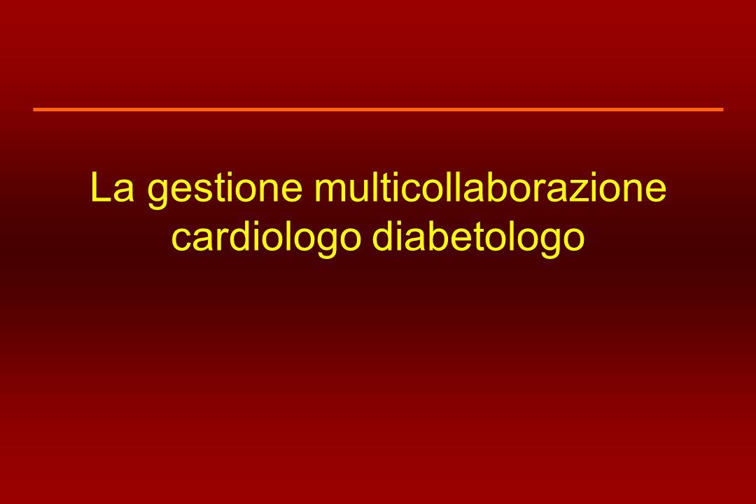 La gestione multicollaborazione cardiologo diabetologo
