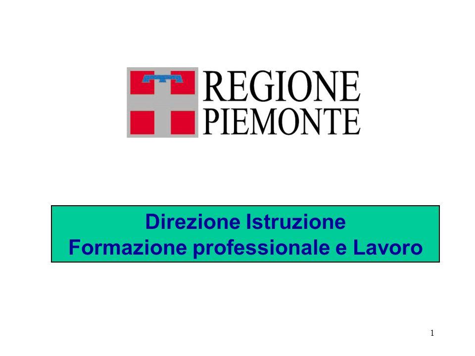 22 Integrazione fra sistemi lavoro-formazione professionale-istruzione.