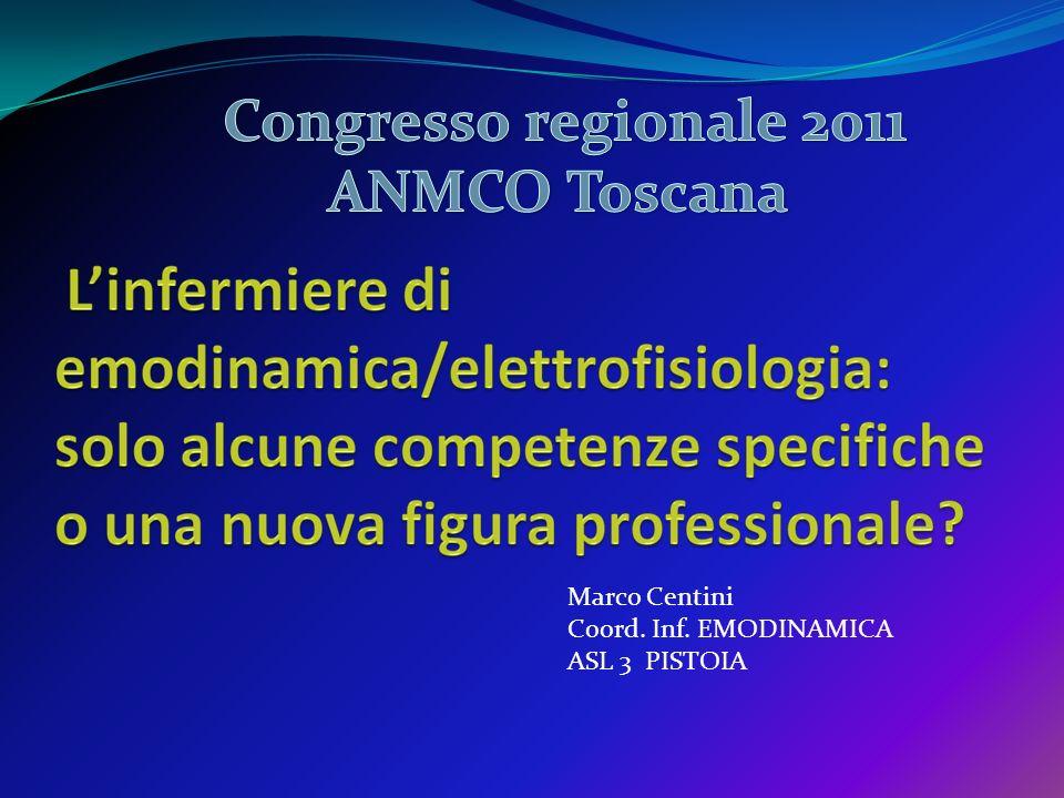 Marco Centini Coord. Inf. EMODINAMICA ASL 3 PISTOIA