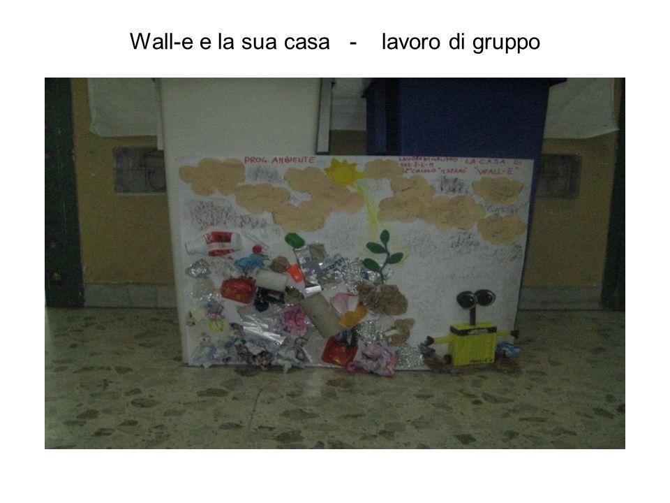 Wall-e e la sua casa - lavoro di gruppo