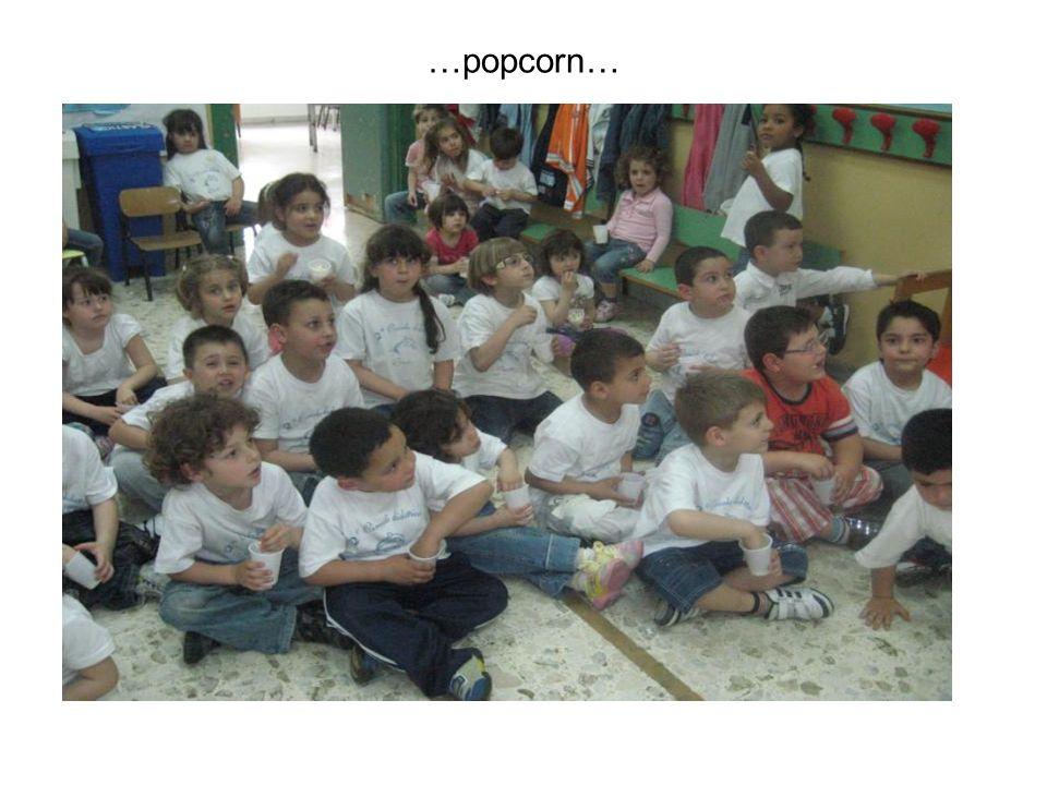 …popcorn…