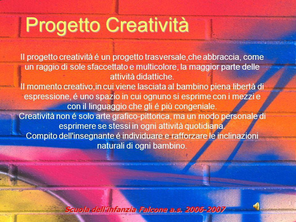 Progetto Creatività Scuola dellinfanzia Falcone a.s.