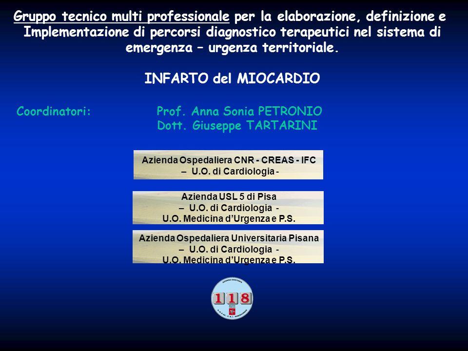 Gruppo tecnico multi professionale per la elaborazione, definizione e Implementazione di percorsi diagnostico terapeutici nel sistema di emergenza – u