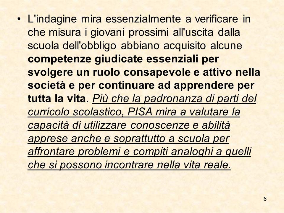 7 Cosa è necessario nella Scuola italiana.