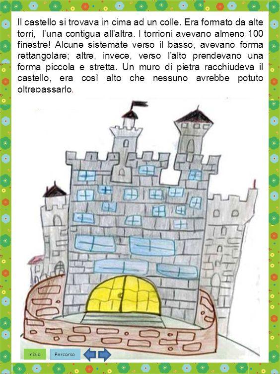 Inizio Percorso Il castello si trovava in cima ad un colle.