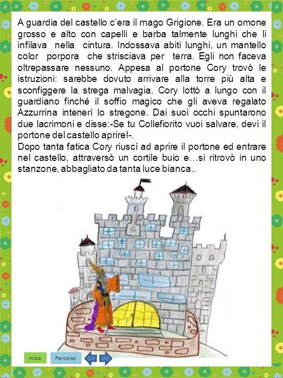 Inizio Percorso A guardia del castello cera il mago Grigione.