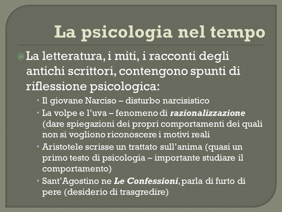 La letteratura, i miti, i racconti degli antichi scrittori, contengono spunti di riflessione psicologica: Il giovane Narciso – disturbo narcisistico L
