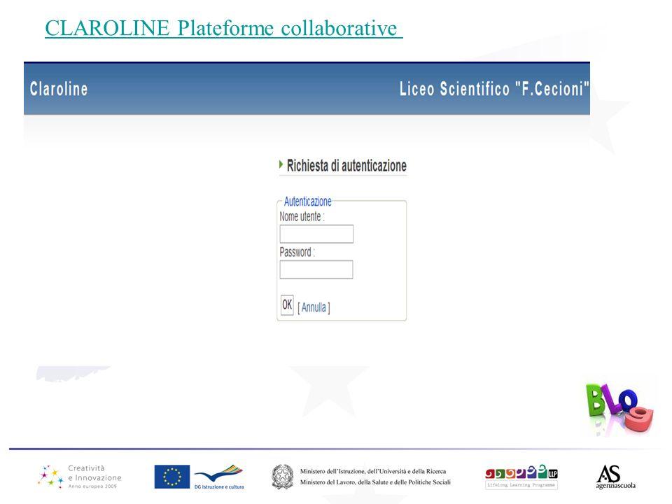 CLAROLINE Plateforme collaborative