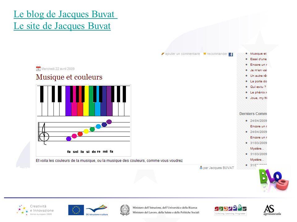 Le blog de Jacques Buvat Le site de Jacques Buvat