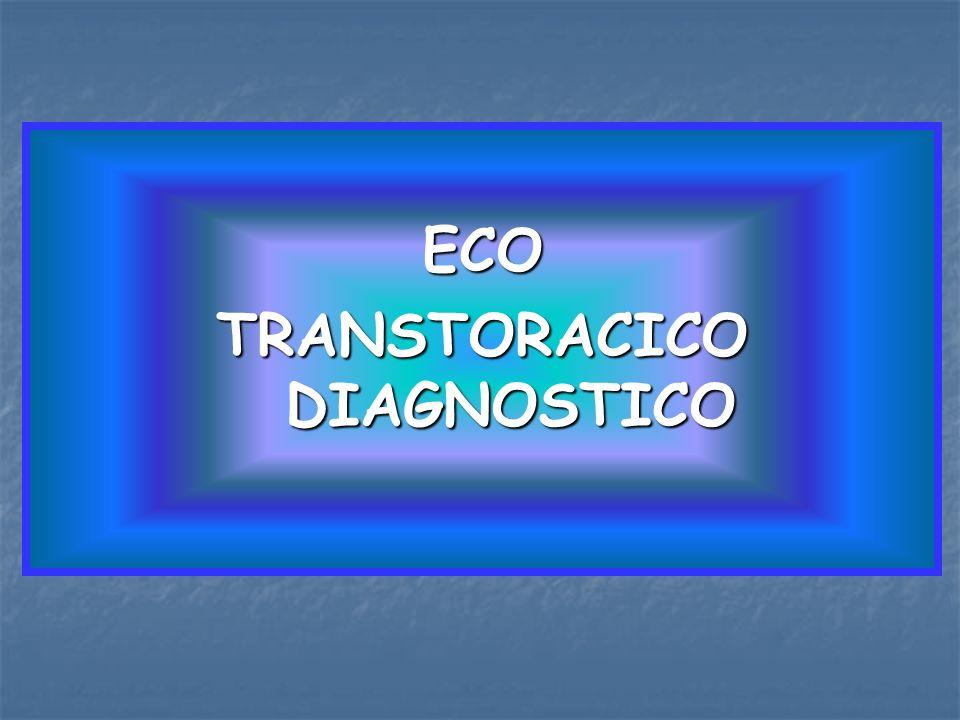 ECO TRANSTORACICO DIAGNOSTICO