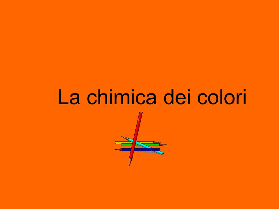 Il colore ha un ruolo importante nella scelta dei cibi.