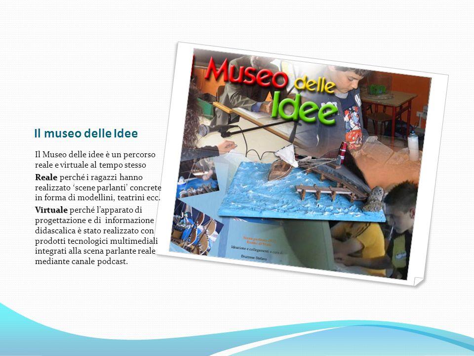 La progettazione: intersezioni multimediali Una terza zona di intersezione è data dalla piattaforma di e-learning Moodle , collocata sul sito della scuola (ad accesso limitato), che funge da luogo di elaborazione dei contenuti, di repositorio di materiale, di dibattito progettuale e di scambio creativo.