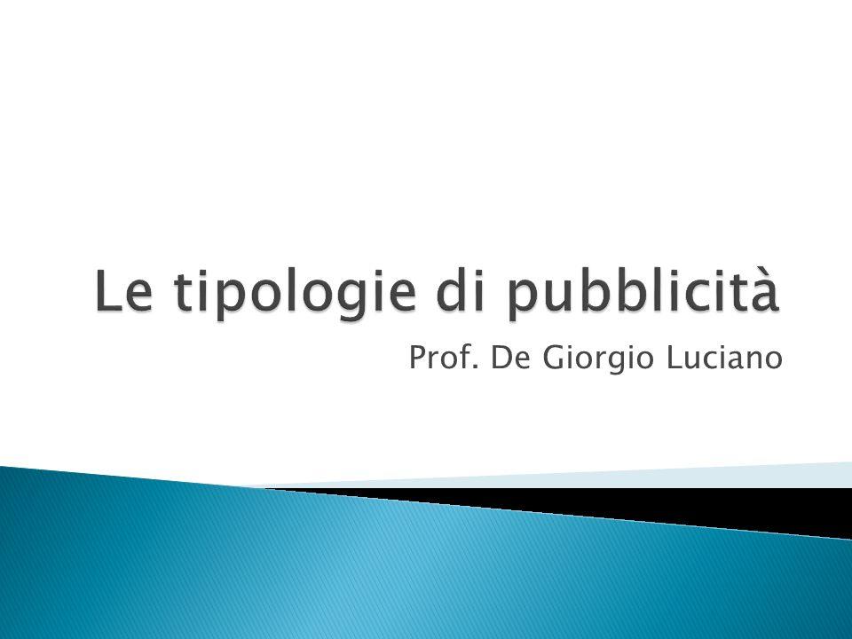 Prof. De Giorgio Luciano