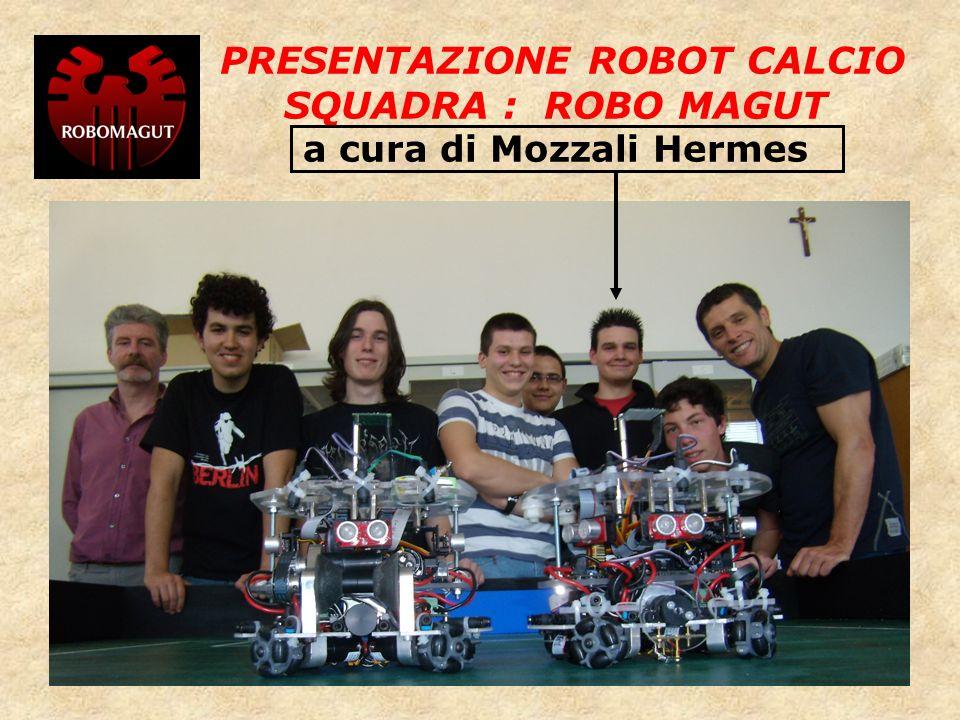 PRESENTAZIONE ROBOT CALCIO SQUADRA : ROBO MAGUT a cura di Mozzali Hermes