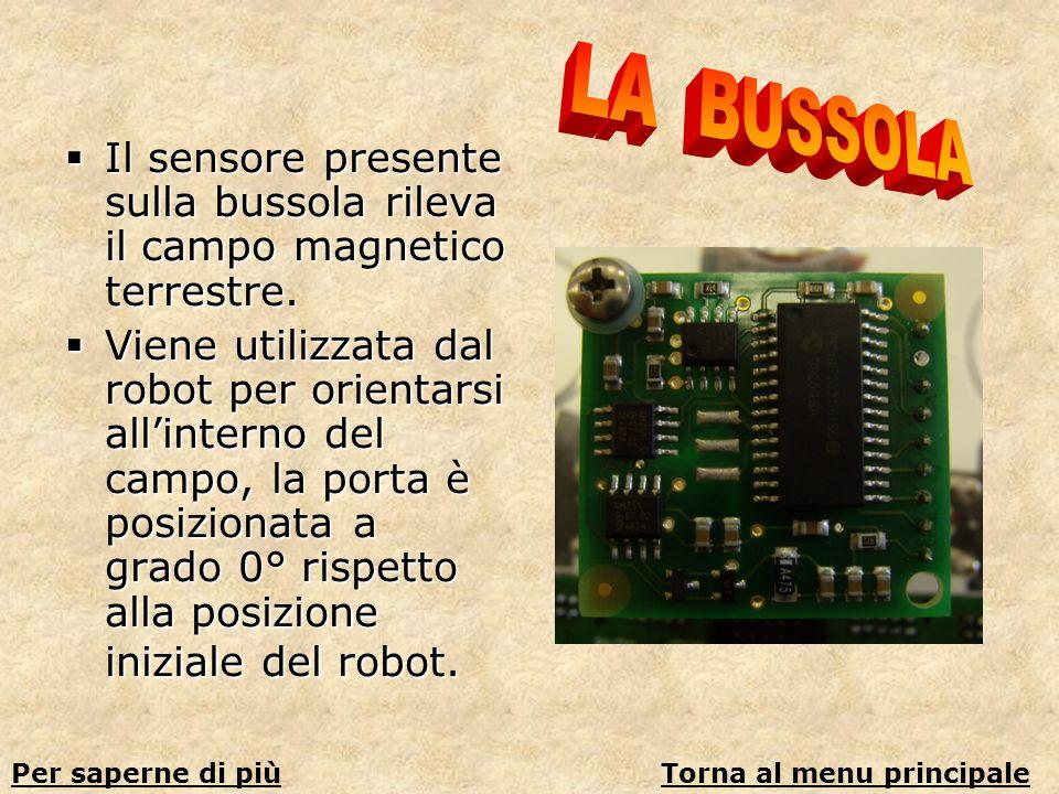Il sensore presente sulla bussola rileva il campo magnetico terrestre. Il sensore presente sulla bussola rileva il campo magnetico terrestre. Viene ut