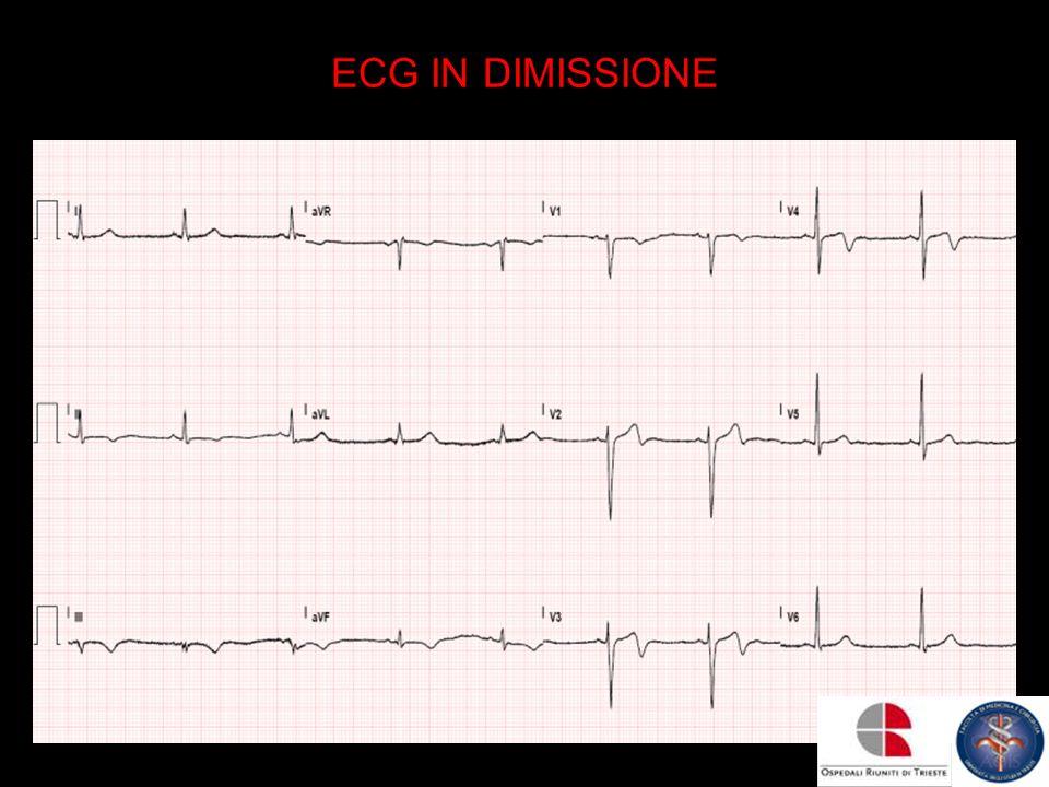 ECG IN DIMISSIONE