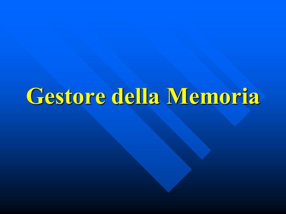 Gestore della Memoria