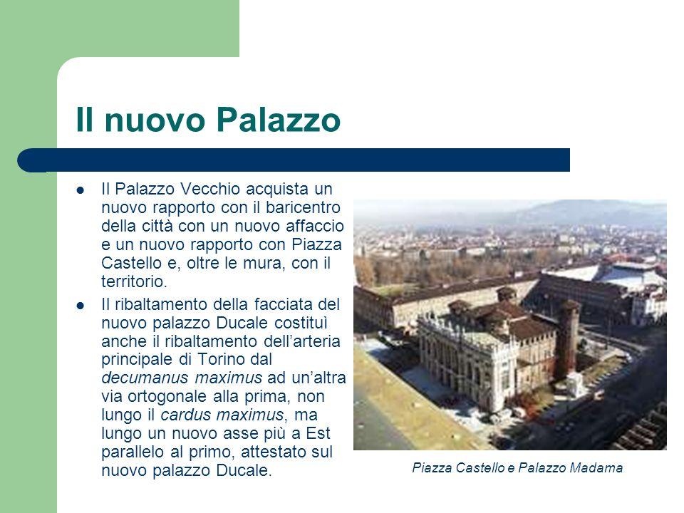 Il nuovo Palazzo Il Palazzo Vecchio acquista un nuovo rapporto con il baricentro della città con un nuovo affaccio e un nuovo rapporto con Piazza Cast