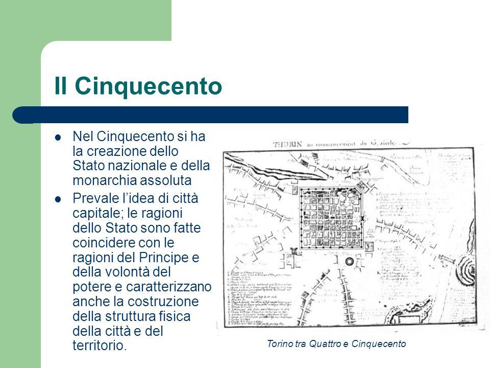 Le altre espansioni / 2 La realizzazione della Contrada Nuova meridionale (1612-1615) fu attuata senza portici, in sintonia con gli intenti funzionali del progetto vitozziano per i collegamenti.