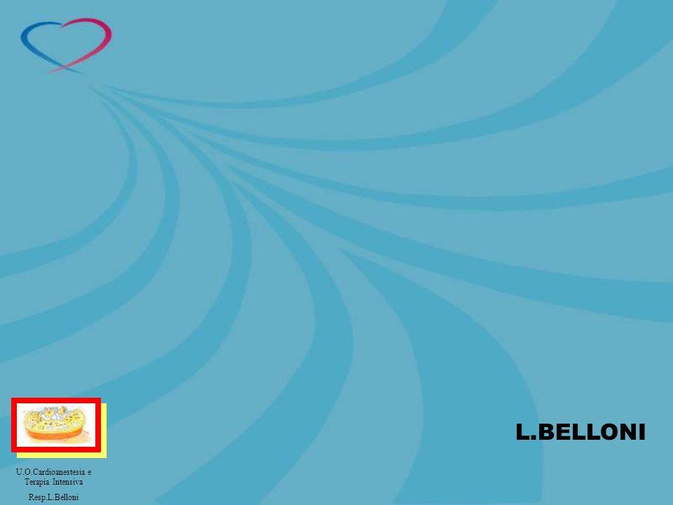 L.BELLONI U.O.Cardioanestesia e Terapia Intensiva Resp.L.Belloni