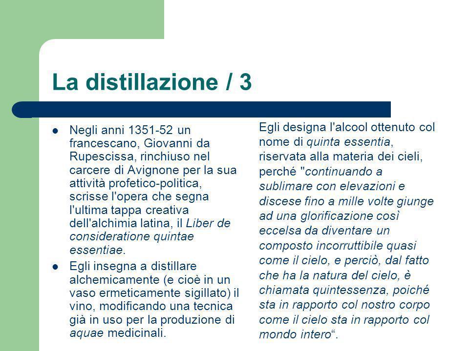 La chimica tintoria / 4 Nel 1784, il Ministro dei Savoia a Napoli informò il governo che un piemontese di nome Giuseppe Morina aveva, dal 1781, impiantato con successo una fabbrica in cui con il guado locale riusciva a produrre un colorante con caratteristiche molto simili all indaco.