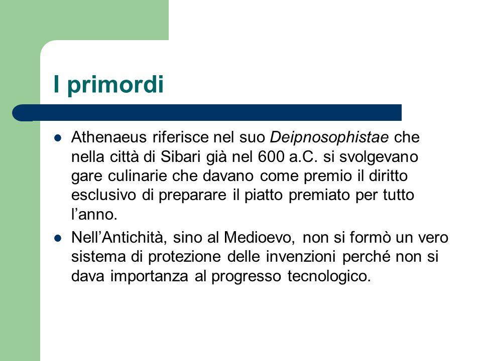 I primordi Athenaeus riferisce nel suo Deipnosophistae che nella città di Sibari già nel 600 a.C. si svolgevano gare culinarie che davano come premio