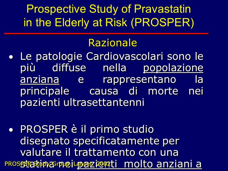 Le patologie Cardiovascolari sono le più diffuse nella popolazione anziana e rappresentano la principale causa di morte nei pazienti ultrasettantenni