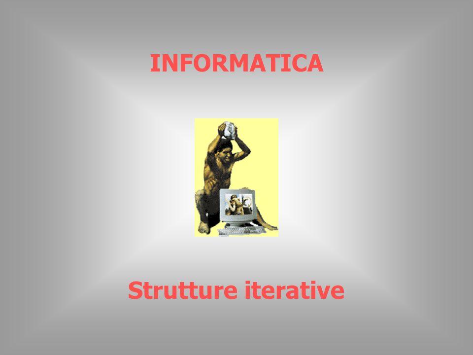 © Piero Demichelis 2 Strutture iterative Si dice ciclo (loop) una sequenza di istruzioni che deve essere ripetuta più volte consecutivamente.