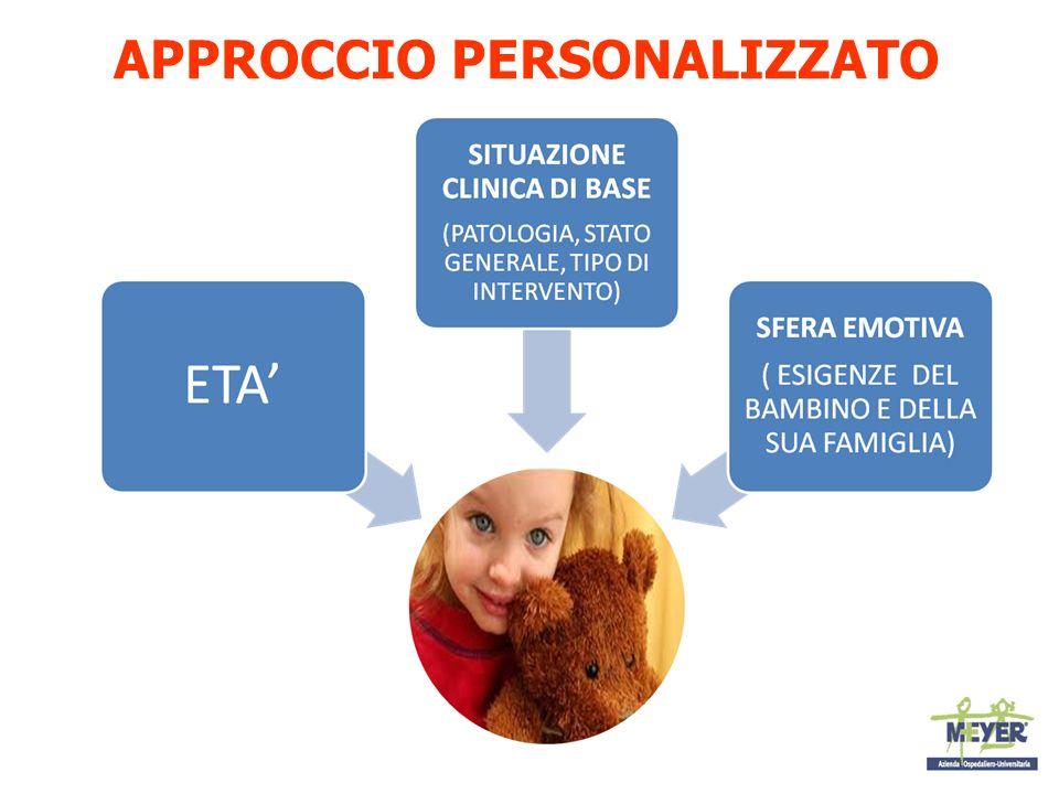 Come informare il bambino Linformazione è un diritto del bambino ed un dovere del curante Le spiegazioni ai bambini vanno date con tempi giusti, con linguaggio semplice e adatto alletà.