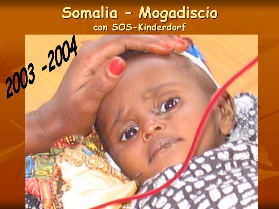 Somalia – Mogadiscio con SOS-Kinderdorf