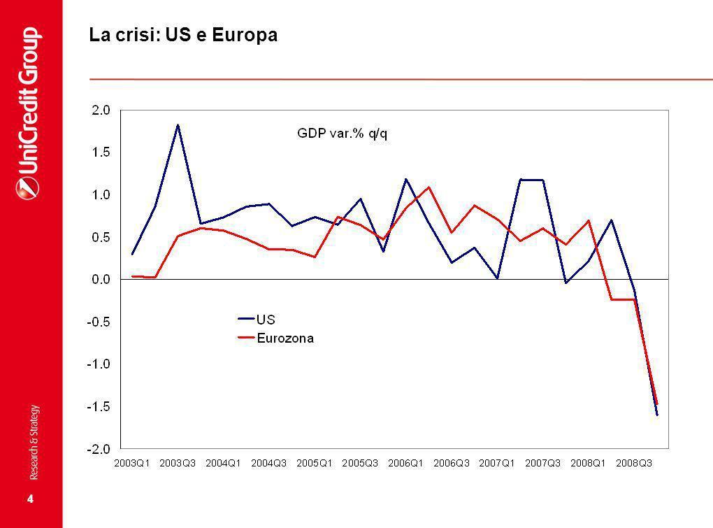 4 La crisi: US e Europa