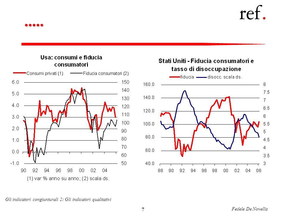 Fedele De Novellis Gli indicatori congiunturali 2: Gli indicatori qualitativi 28......