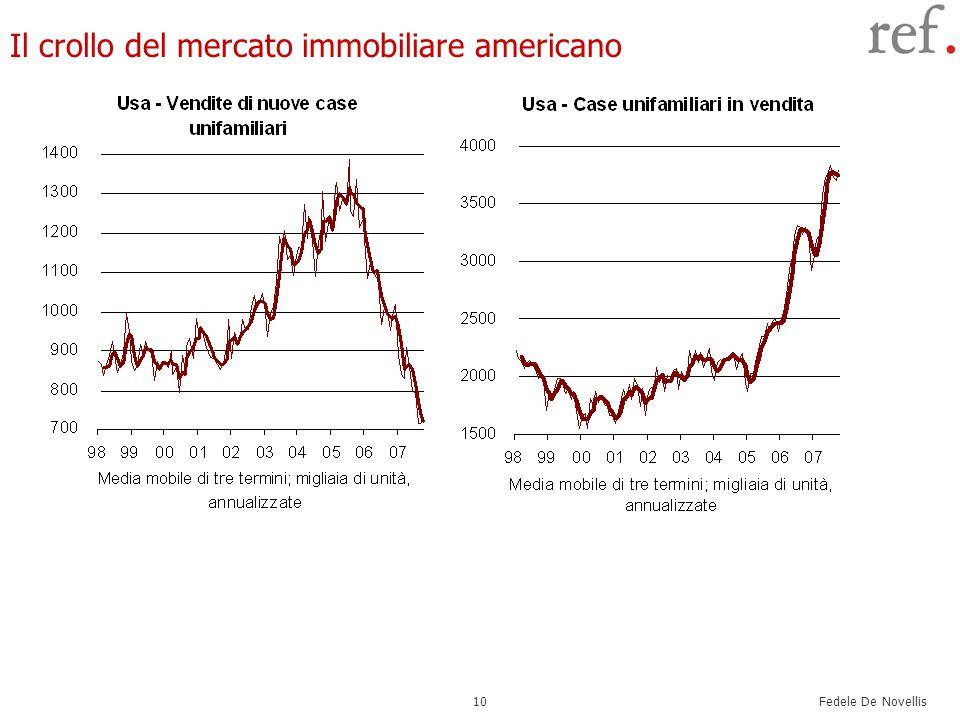 Fedele De Novellis 10 Il crollo del mercato immobiliare americano