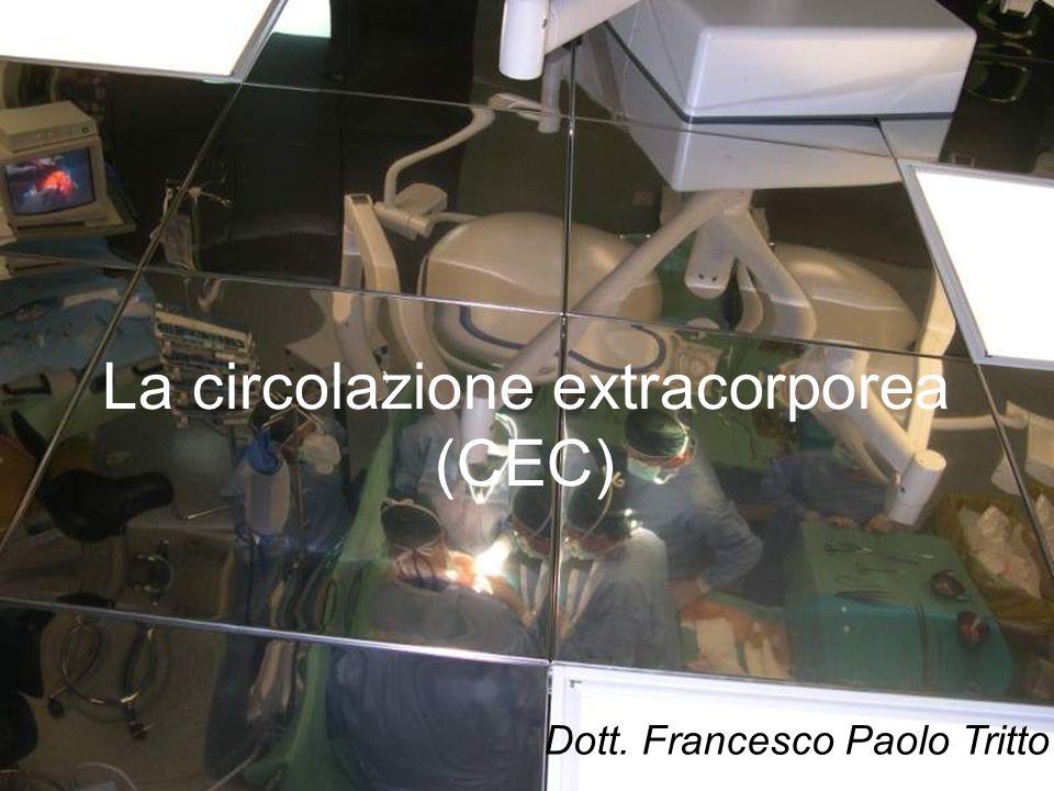 La circolazione extracorporea (CEC) Dott. Francesco Paolo Tritto